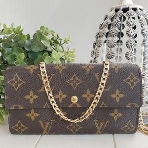 Louis Vuitton Monogram Wallet & Mini Bag